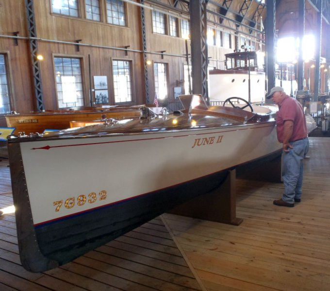 FT-920 John in boathouse