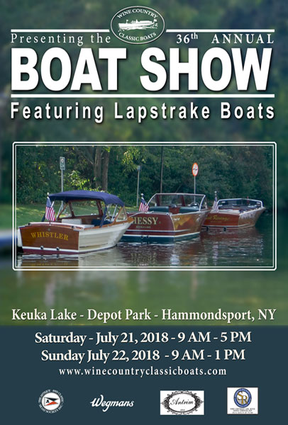 2018 Boat Show Poster