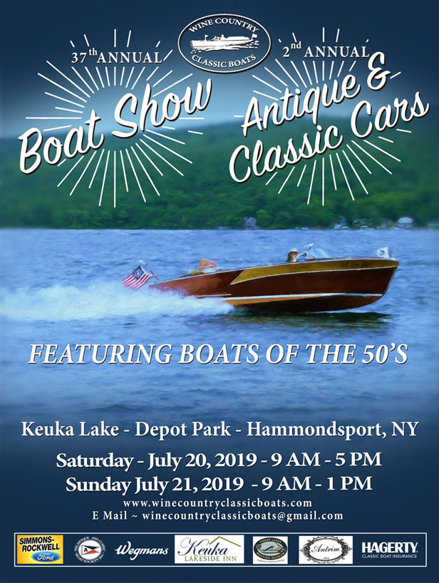 2019 Boat Show Poster